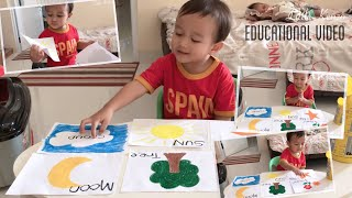 Learning video for toddlers | Kenzo Belajar Kosakata Bahasa Inggris | Video Pendidikan Anak PAUD