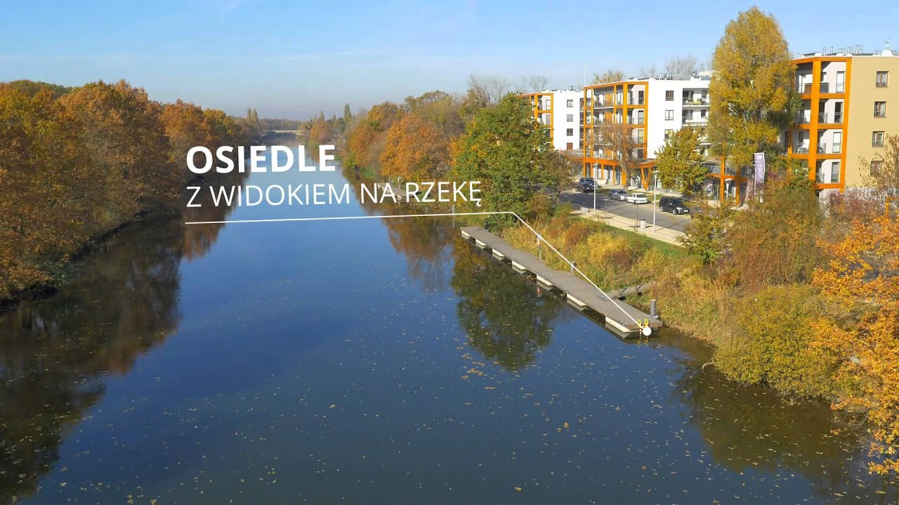 Niesamowite Olimpia Port - wyjątkowe osiedle nad Odrą | mieszkania Wrocław TB82