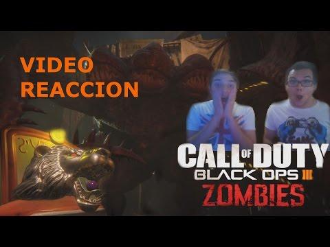 Video reaccion - BLACK OPS 3 ZOMBIS