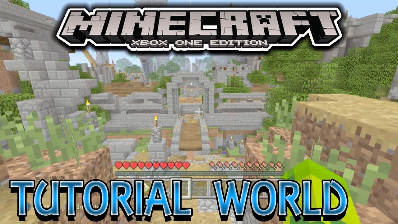Minecraft Xbox One Edition - Tutorial World Survival