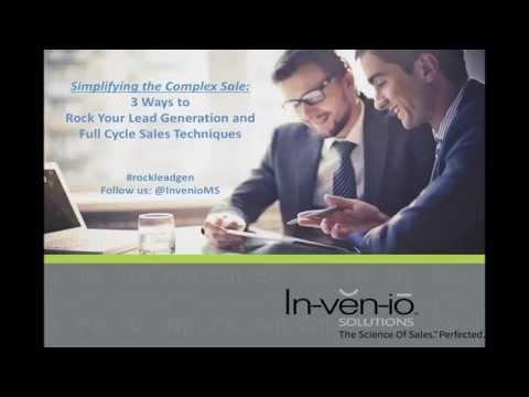 Rock Your Lead Generation & Full Cycle Sales Process Webinar