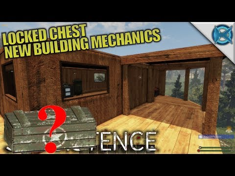 LOCKED CHEST NEW BUILDING MECHANICS | Subsistence | Let's Play Gameplay | S06E07