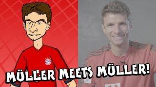 🤣THOMAS MULLER meets THOMAS MULLER🤣
