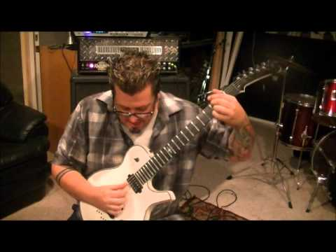 How to play Big River by Van Halen on guitar by Mike Gross