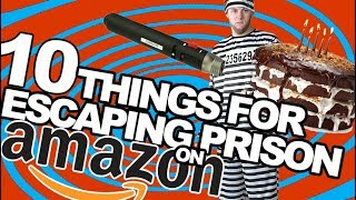 10 things used to escape from prison