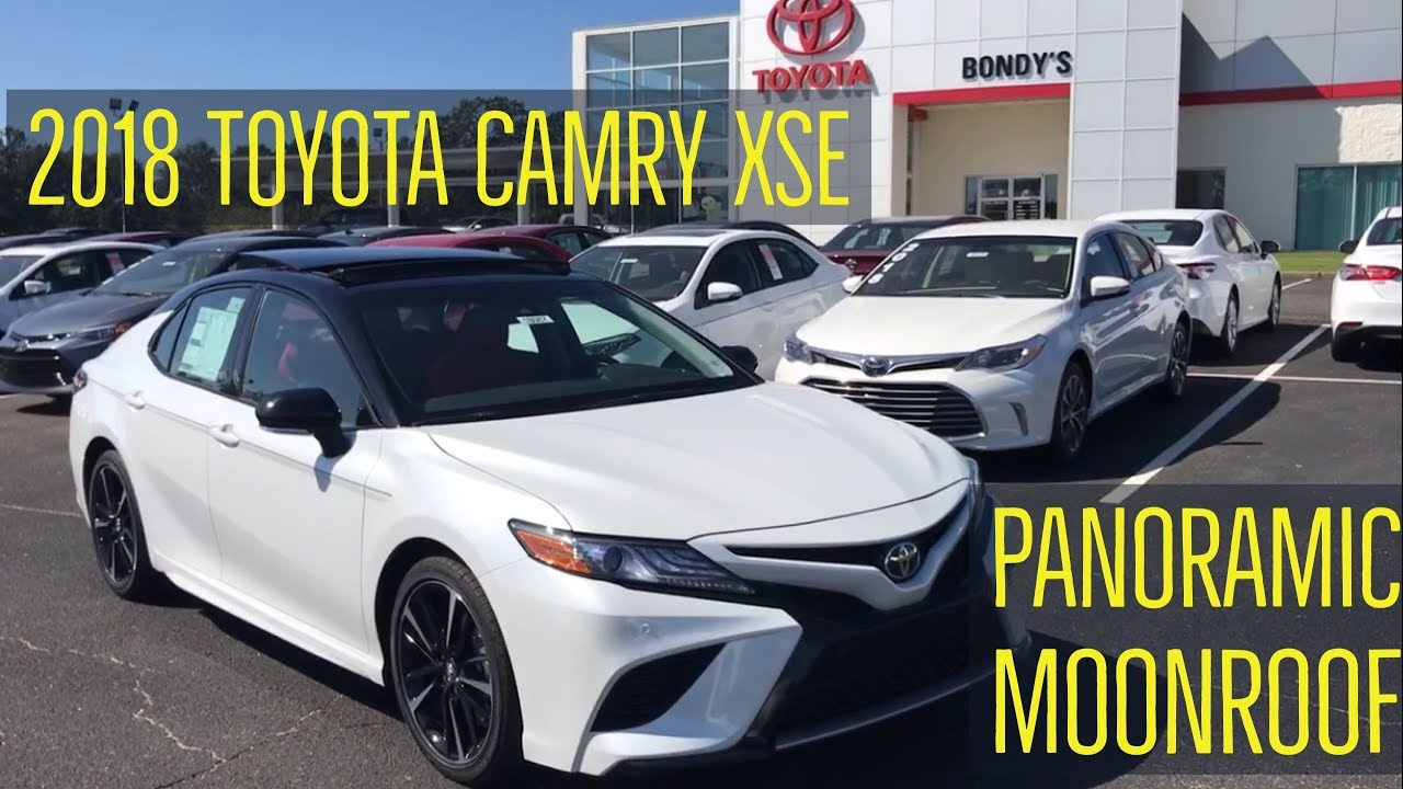 2018 toyota camry xse with cockpit red interior with jonathan sewell sells at bondy s toyota in for 2018 toyota camry xse red interior