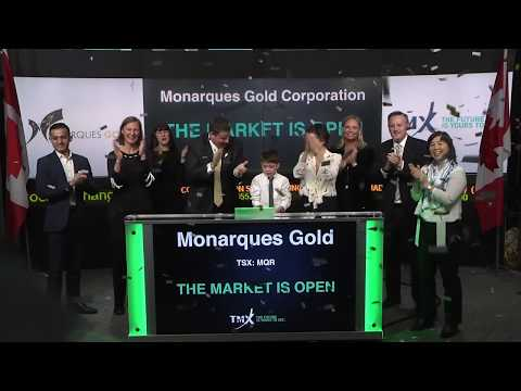 Monarques Gold Corporation Opens Toronto Stock Exchange December 21, 2018