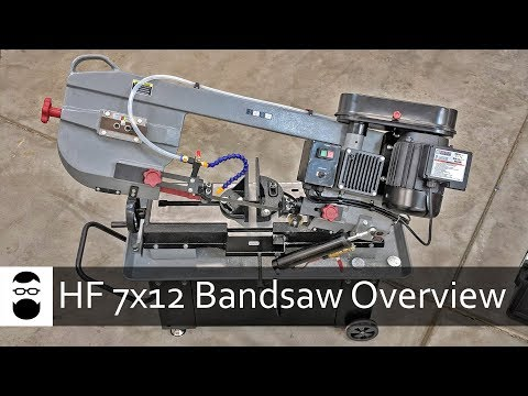 Harbor Freight 7x12 Bandsaw Overview (New Model)