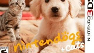 Nintendogs + Cats 3DS Video Review