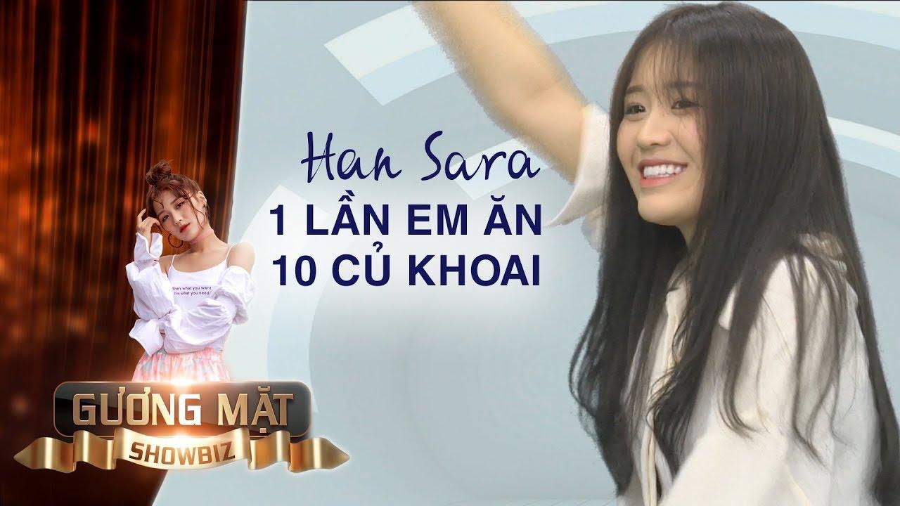Han Sara tiết lộ bí quyết ăn 10 củ khoai lang mỗi ngày vẫn giữ vòng eo 53cm