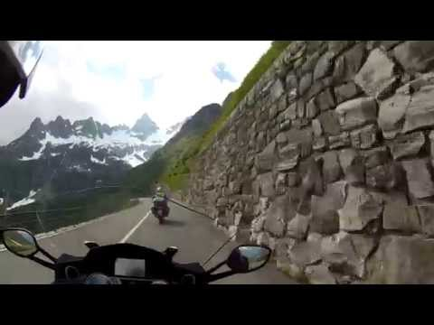 Susten pass (CH) on my BMW K1600 GTL