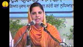 Dr Nivedita ji : Adutti Gurmat Sangeet Samellan - 1999
