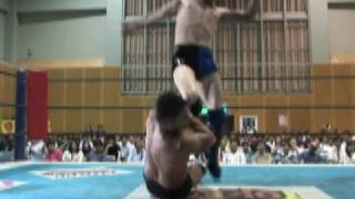 """2010.06.04 BEST OF THE SUPER Jr.ⅩII FUJITA""""Jr""""HAYATO vs TAMA TONGA"""