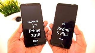 Huawei Y7 Prime (2018) vs Redmi 5 Plus Showdown [Urdu/Hindi]