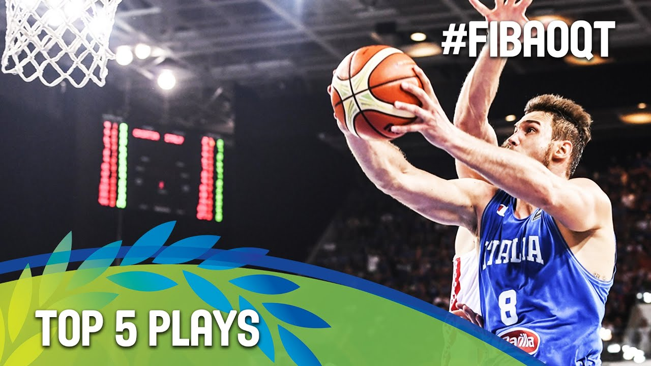 Top 5 Plays - Final Day - 2016 FIBA Olympic Qualifying Tournament
