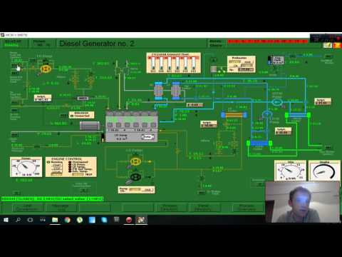 How to change over from Diesel oil to Heavy fuel oil Main Diesel Generators lesson 6