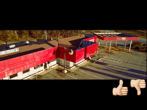 Flying The Drone - Ma to Nc Abandoned Gas Station