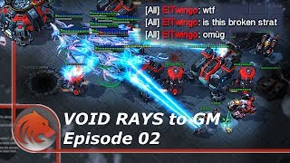 StarCraft 2: Another IMBALANCED Protoss Strategy!