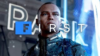 Detroit: Become Human - 'Android Grave' EXCLUSIVE GAMEPLAY SCENE With David Cage - IGN First