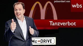 McDonalds Mitarbeiter droht Tanzverbot mit Anzeige - wer hat Recht? RA Solmecke