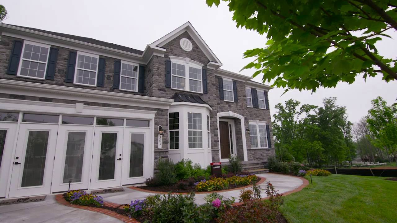The Amherst Floor Plan By Richmond American