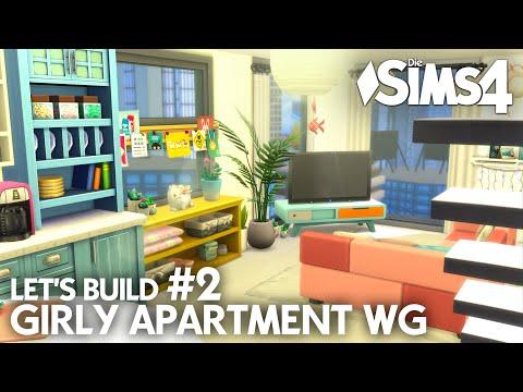 die-sims-4-girly-apartment-wg-bauen-einrichten-|-let's-build-#2-💝-grundriss-&-bad-(deutsch)