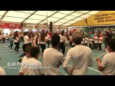 KIDS UNITED - On Ecrit Sur Les Murs - Dance Rehearsals at HOOPS Club with Elie Fleyhan