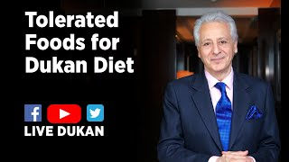 Tolerated Foods for Dukan Diet (LIVE DUKAN) / Aliments Tolérés