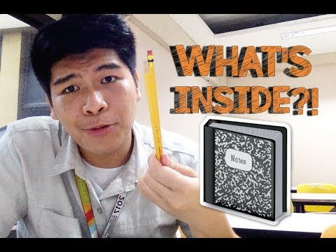 What's inside my university Bag? ( Philippines) | Christian Layese