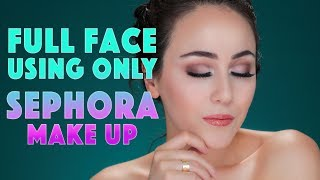Full Face Using Only SEPHORA Make-up | Hatice Schmidt