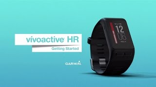 vívoactive HR: Getting to Know Your Device