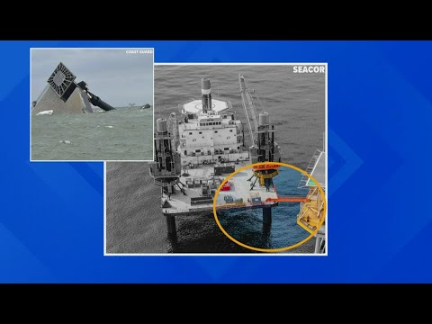Seacor capsize update: 9 crew members are still missing