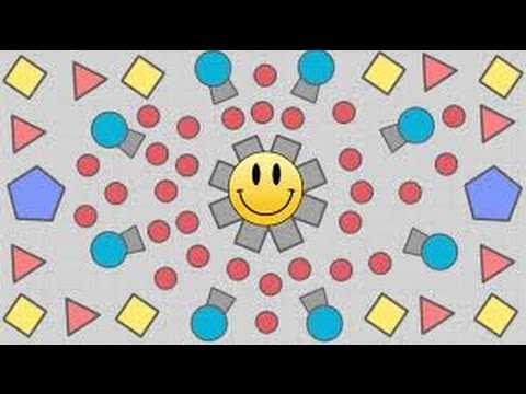 Diep.io gameplay/review of the triangle