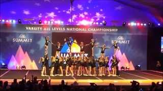 2014-2015 KXA Heartbreakers Jr Level 2 May 3rd, 2015 The Summit Day #2 -- 7th place