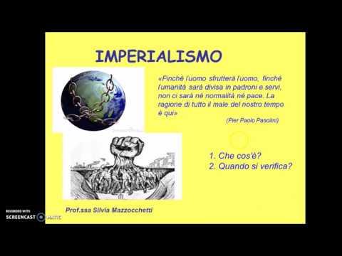 IMPERIALISMO - prima parte