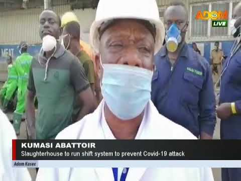 Kumasi Abattoir - Adom TV News (27-3-20)