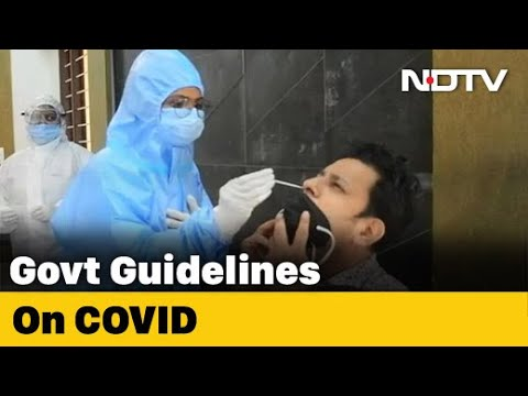 Centre Issues New COVID-19 Guidelines For States From December 1