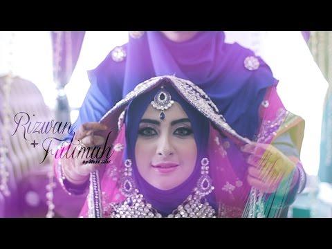 INDIAN MUSLIM WEDDING (Kuala Lumpur, MALAYSIA) : Rizwan + Fatimah // Reception by NEXT ART
