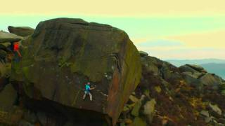 Silent Scream E7 6C - 2nd & 3rd Ascent Burbage South UK