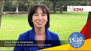 Anne-Marie Glowienka - Für Oldenburg-Land nach Hannover