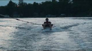 Muskoka Chair On Water Skiis