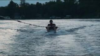 Muskoka Chair On Water Skiis