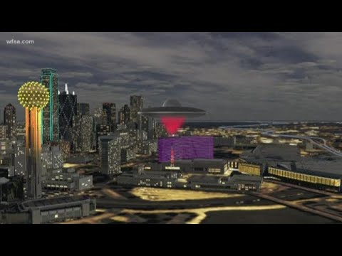ufo or meteor? what was seen over downtown dallas?