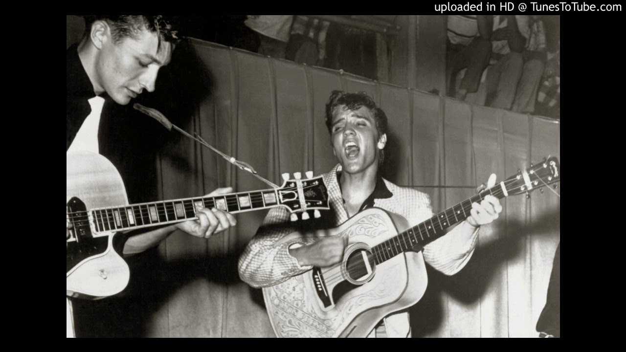 HOUND DOG GUITAR SOLOS (SCOTTY MOORE) - YouTube