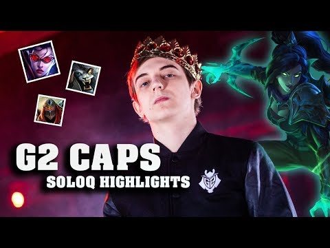 G2 CAPS PLAYS VAYNE MID AGAINST NEMESIS PATCH 8 24 SOLOQ HIGHLIGHTS