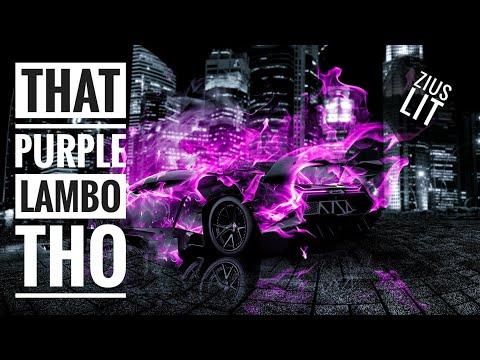 Zius Lit That Purple Lambo Tho  Me