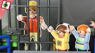 Playmobil Film Papa im Gefängnis Familie Jansen  Kinderfilm  Kinderserie