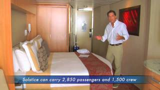Travel TV News reports from the Celebrity Solstice