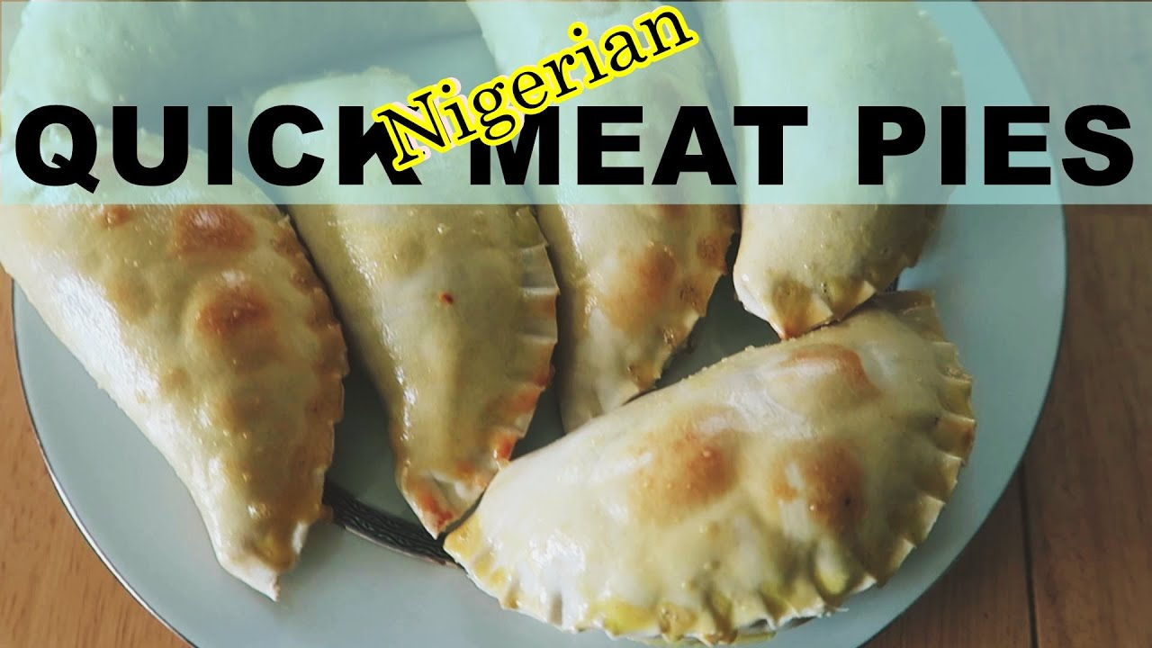 how to make nigerian meat pie youtube