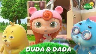 DUDA ET DADA (épisode entier) - Charavane contre Pinkar (Nouveau dessin animé Piwi+)